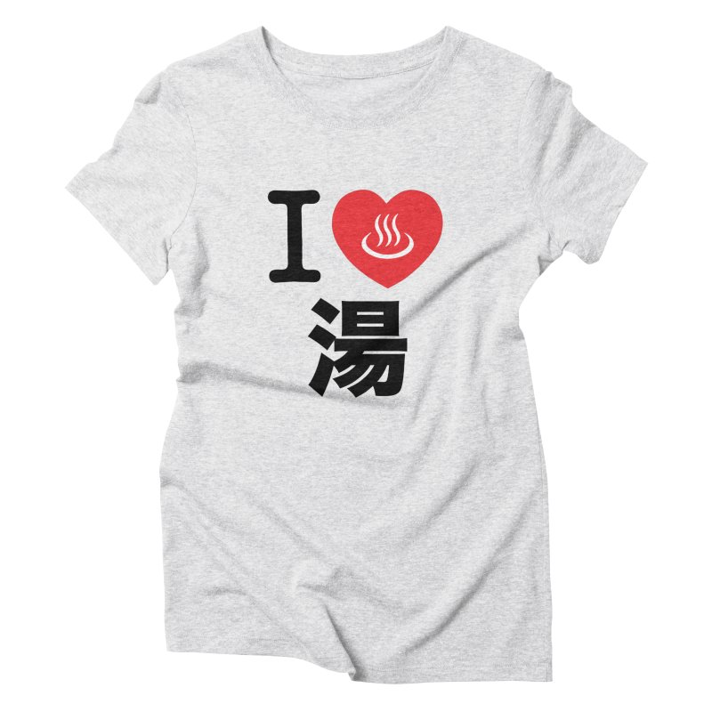 I Love Yu Women's Triblend T-shirt by Kid Radical