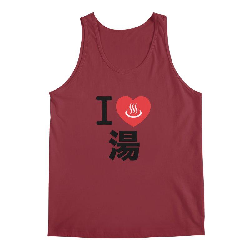 I Love Yu Men's Tank by Kid Radical