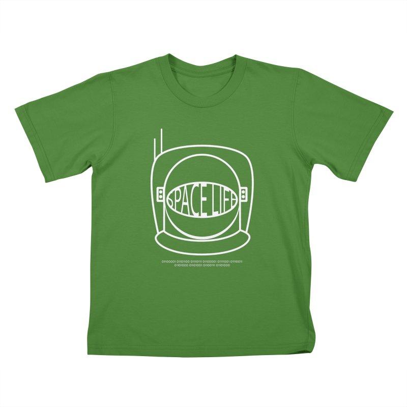 Space Life Kids T-Shirt by Kid Radical