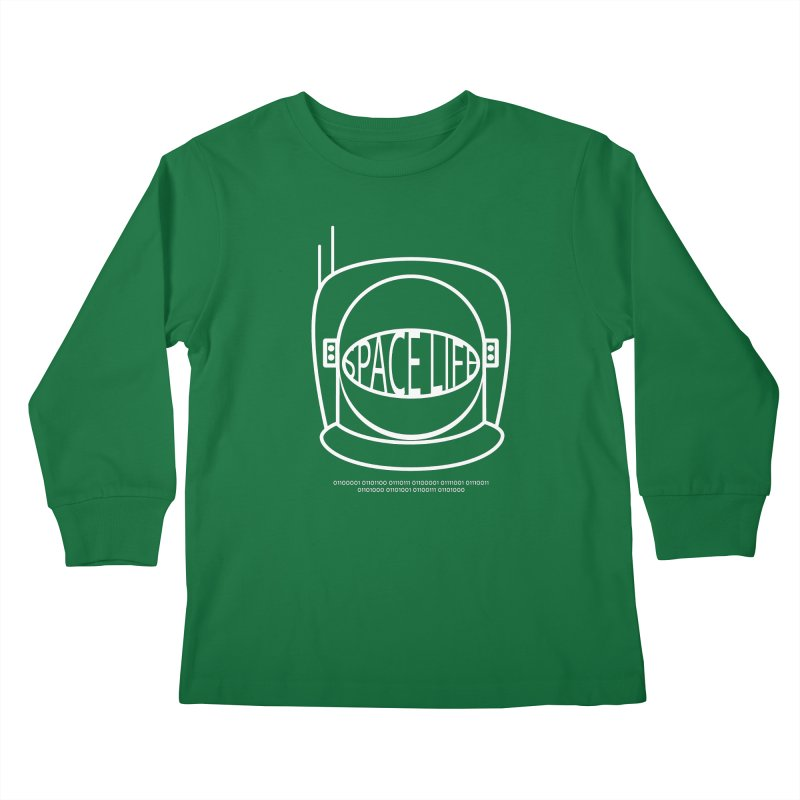 Space Life Kids Longsleeve T-Shirt by Kid Radical