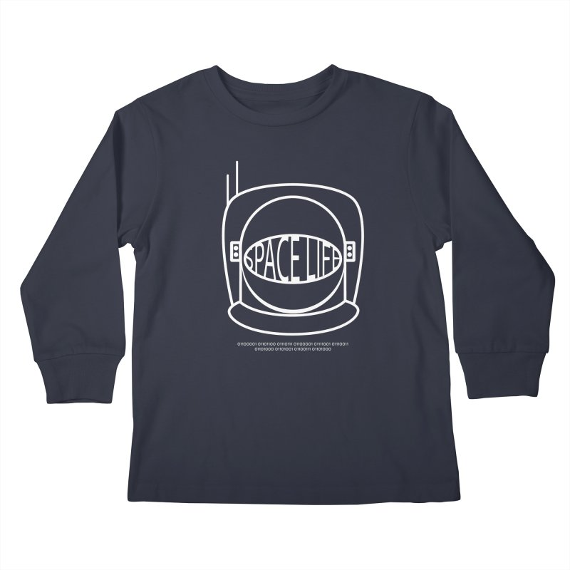 Space Life Kids Longsleeve T-Shirt by Kid Radical
