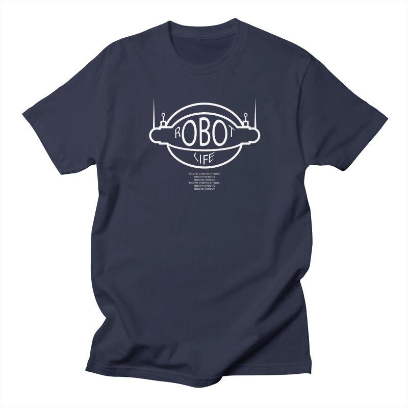 Robot Life Men's T-shirt by Kid Radical