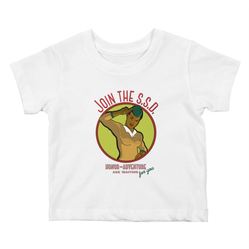 Reach for the Stars Kids Baby T-Shirt by Kid Radical