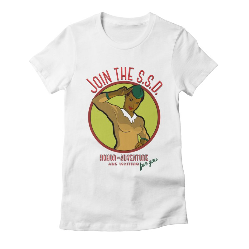 Reach for the Stars Women's Fitted T-Shirt by Kid Radical