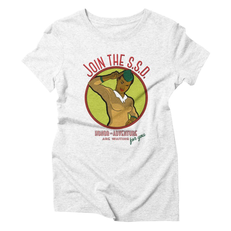 Reach for the Stars Women's Triblend T-shirt by Kid Radical