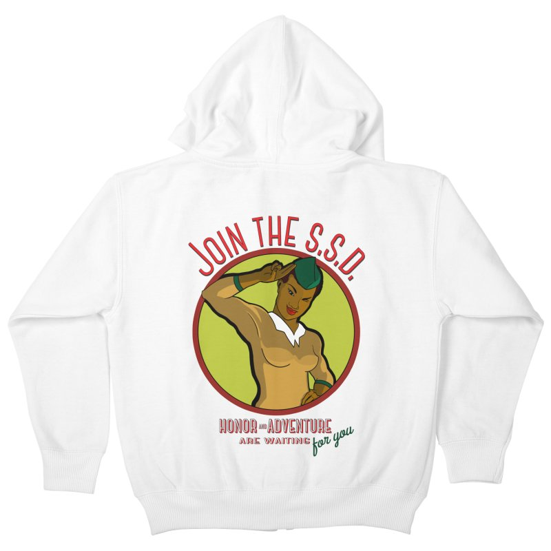 Reach for the Stars Kids Zip-Up Hoody by Kid Radical