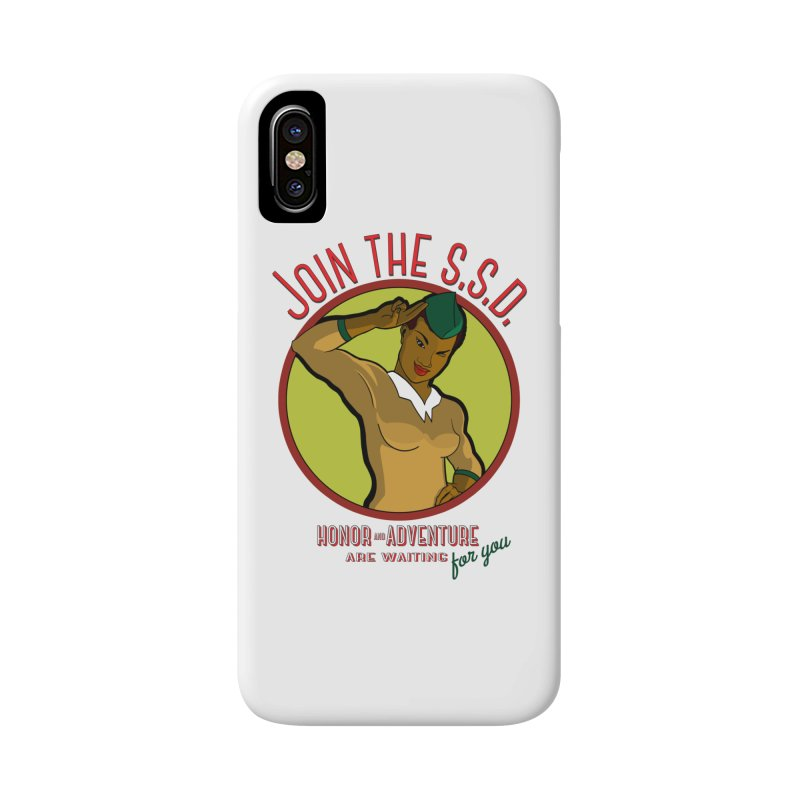 Reach for the Stars Accessories Phone Case by Kid Radical