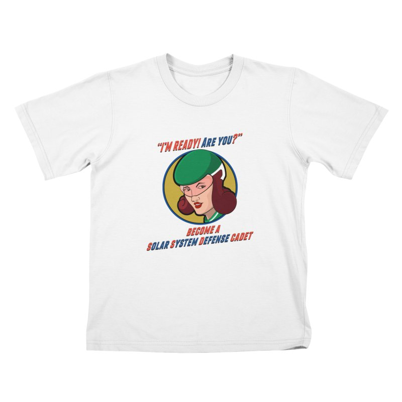 Get Ready (Retro Space Cadet) Kids Toddler T-Shirt by Kid Radical