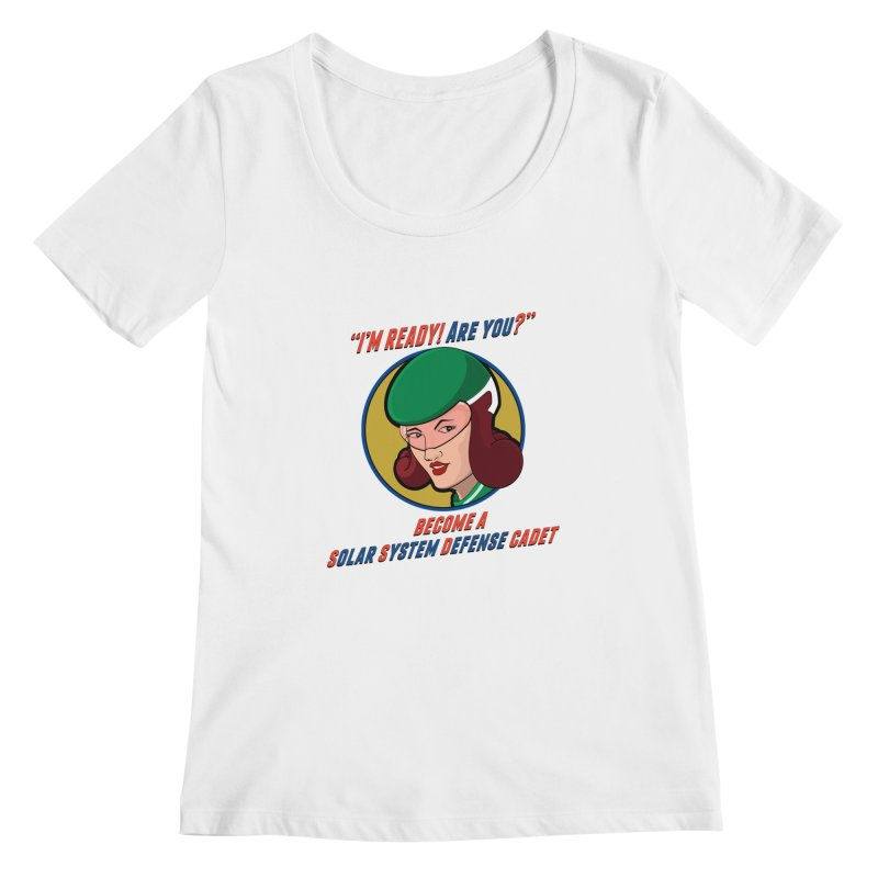 Get Ready Women's Scoopneck by Kid Radical