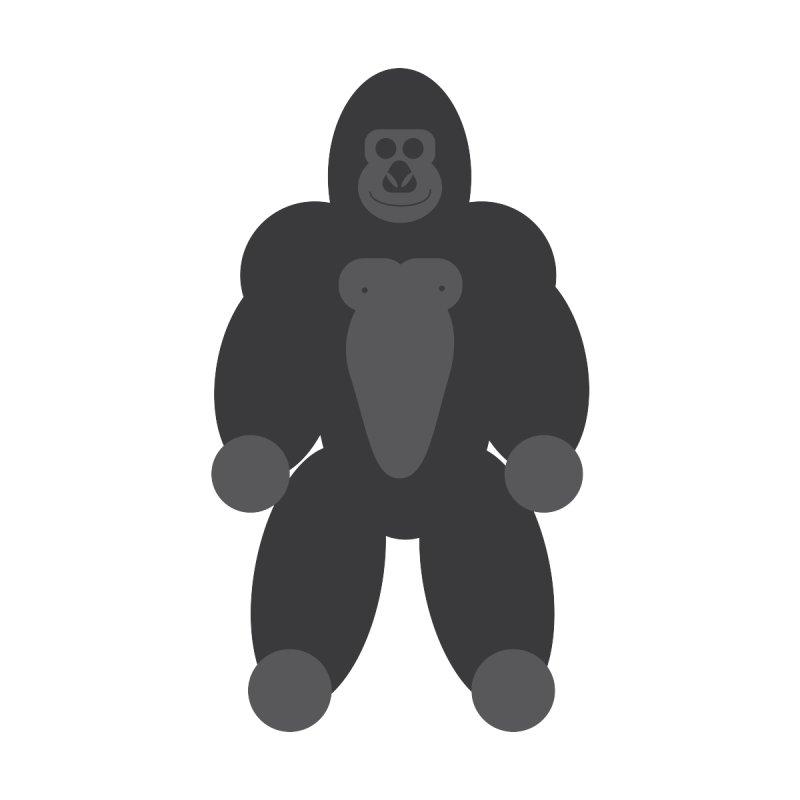 Gary the Gorilla Men's Zip-Up Hoody by Wavey Jane