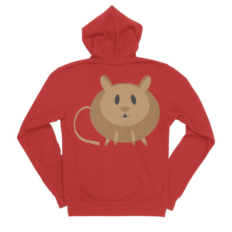 Millie the Mouse Men's Zip-Up Hoody by Wavey Jane