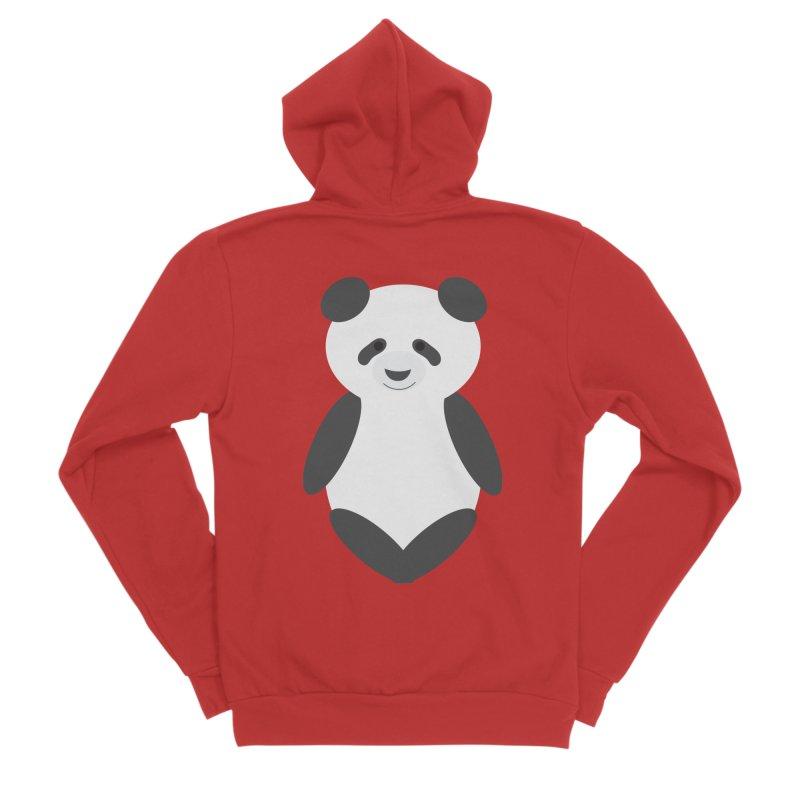 Penny the Panda Men's Zip-Up Hoody by Wavey Jane