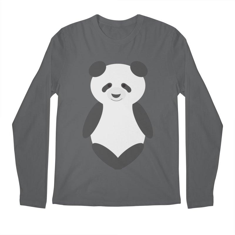Penny the Panda Men's Longsleeve T-Shirt by Wavey Jane