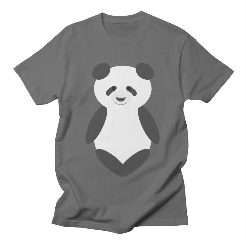 Penny the Panda Men's T-Shirt by Wavey Jane
