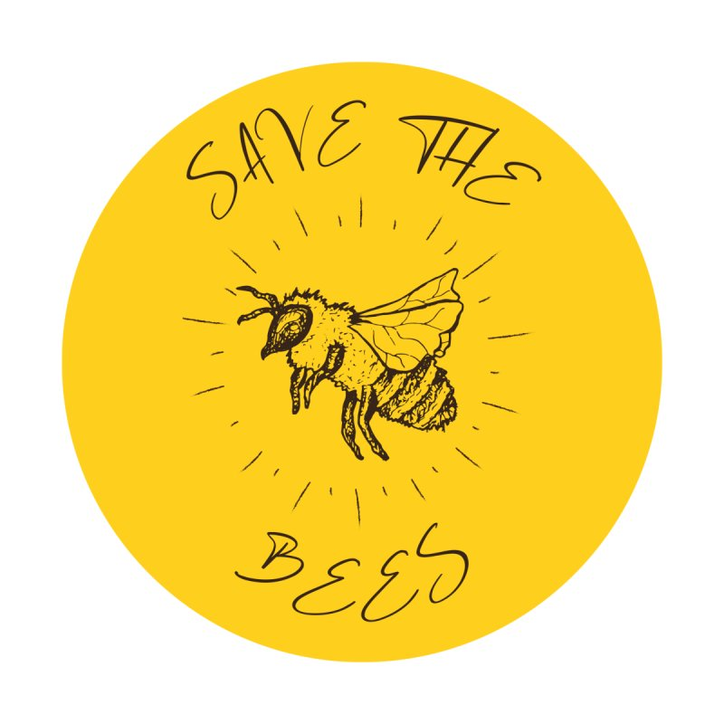 Save The Bees Men's Longsleeve T-Shirt by Wavey Jane