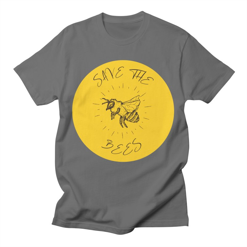 Save The Bees Men's T-Shirt by Wavey Jane