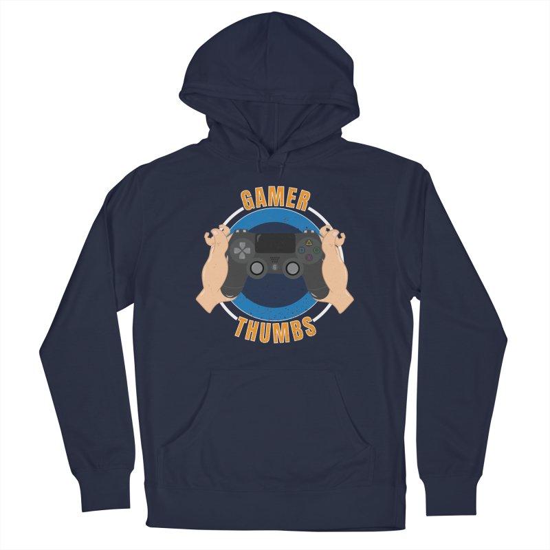 Gamer Thumbs Men's Pullover Hoody by Wavey Jane