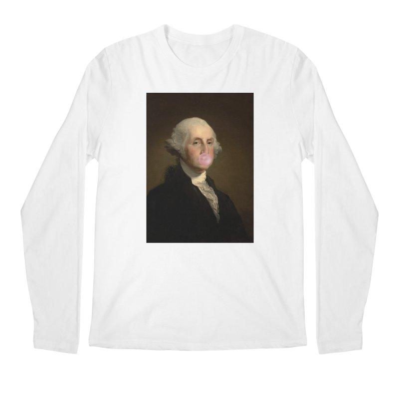 IDFC George Washington Men's Longsleeve T-Shirt by Wavey Jane