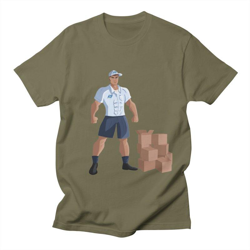 Super Mail Man Men's T-Shirt by Wavey Jane