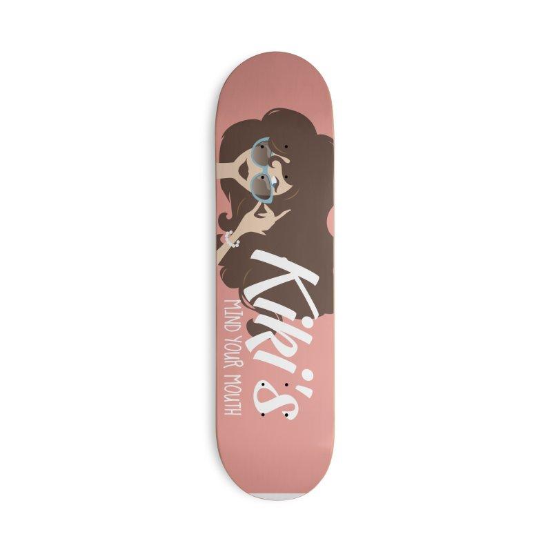 Kiki's Swag Accessories Skateboard by KikiSwag's Artist Shop