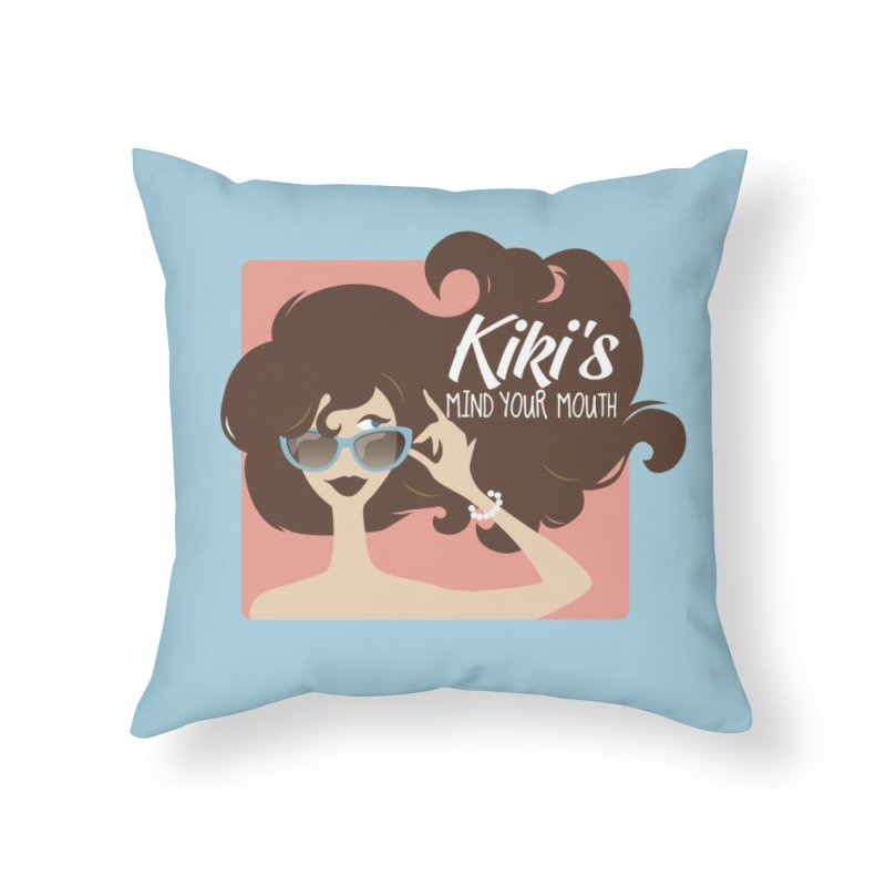 Kiki's Swag in Throw Pillow by KikiSwag's Artist Shop