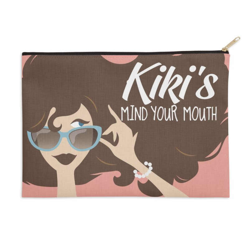 Kiki's Swag Accessories Zip Pouch by KikiSwag's Artist Shop