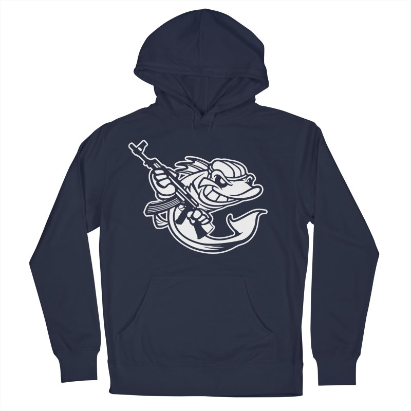 SWIMMING WITH THE FISHES Women's Pullover Hoody by KingKyle's Artist Shop