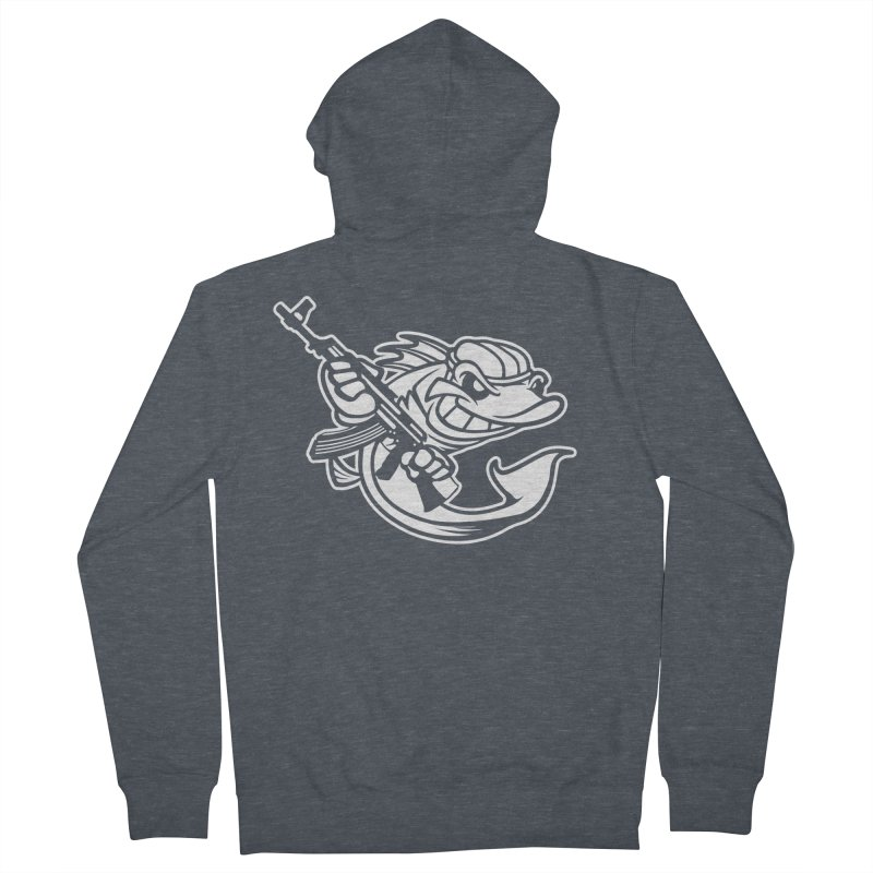 SWIMMING WITH THE FISHES Women's Zip-Up Hoody by KingKyle's Artist Shop