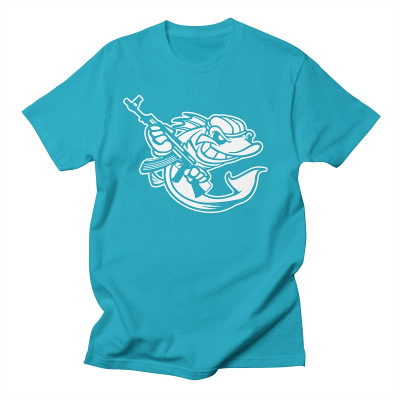 SWIMMING WITH THE FISHES Men's T-Shirt by KingKyle's Artist Shop