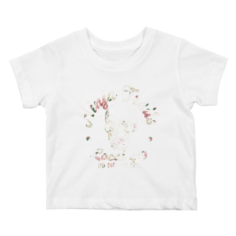 Ninja Trails (floral print) Kids Baby T-Shirt by KingKyle's Artist Shop