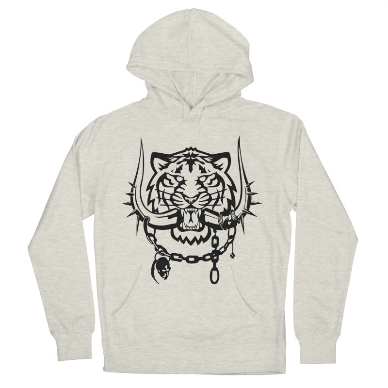 DETROIT MOTORHEADS Men's French Terry Pullover Hoody by KingKyle's Artist Shop