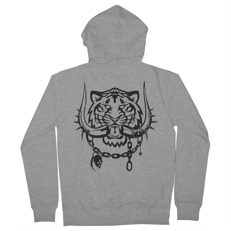 DETROIT MOTORHEADS Men's Zip-Up Hoody by KingKyle's Artist Shop
