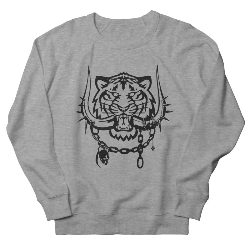 DETROIT MOTORHEADS Men's French Terry Sweatshirt by KingKyle's Artist Shop