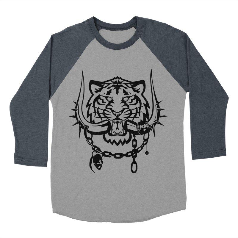DETROIT MOTORHEADS Men's Baseball Triblend Longsleeve T-Shirt by KingKyle's Artist Shop
