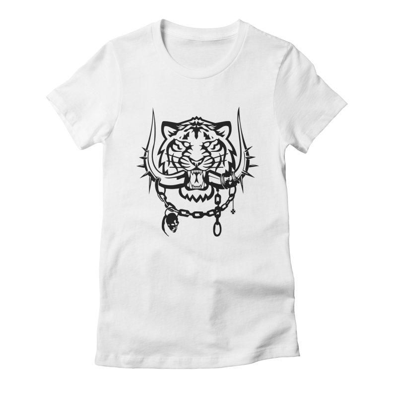 DETROIT MOTORHEADS Women's Fitted T-Shirt by KingKyle's Artist Shop