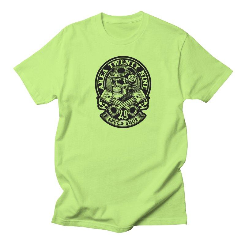 Area 29 Black ink Men's Regular T-Shirt by KingKyle's Artist Shop