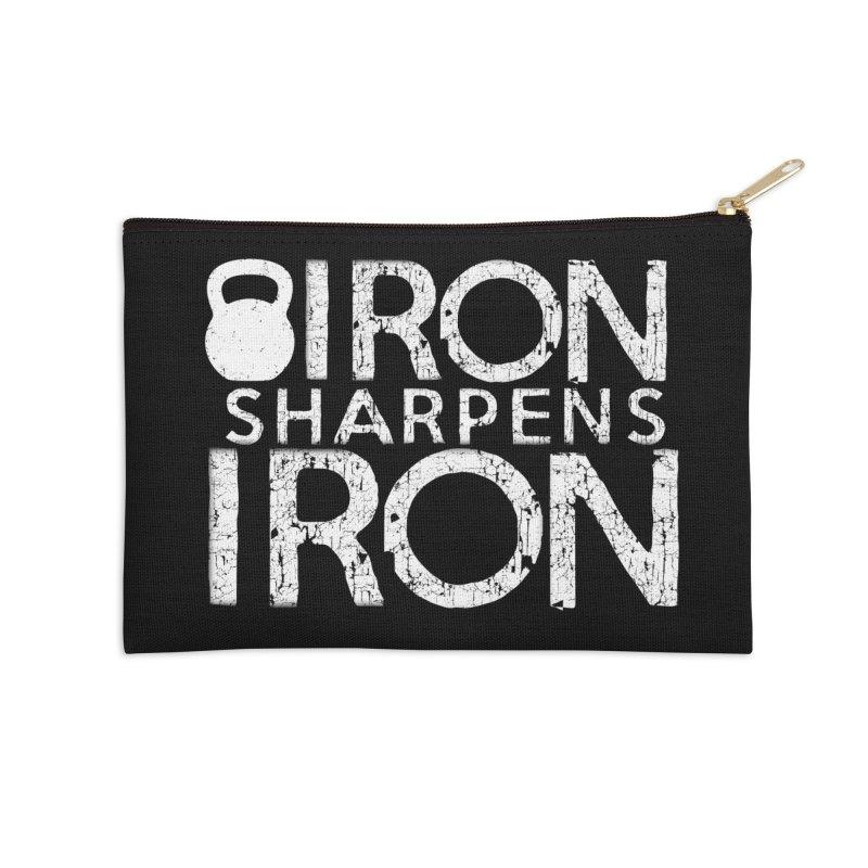Iron sharpens Iron Accessories Zip Pouch by Kingdomatheart's Artist Shop