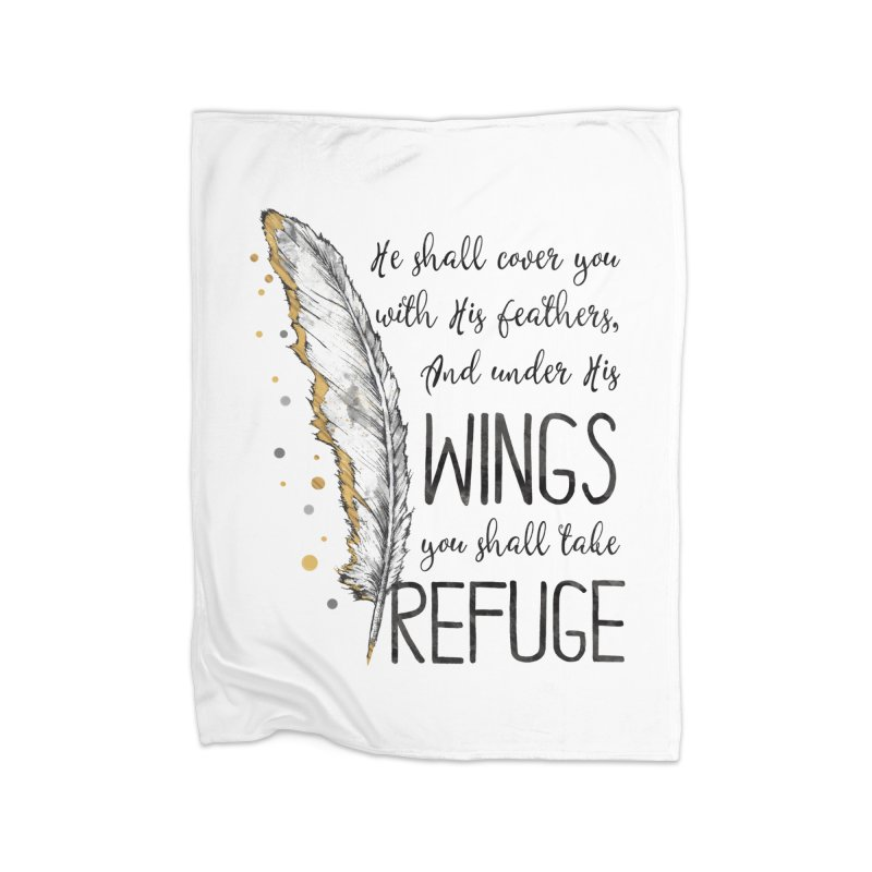 Refuge Home Blanket by Kingdomatheart's Artist Shop