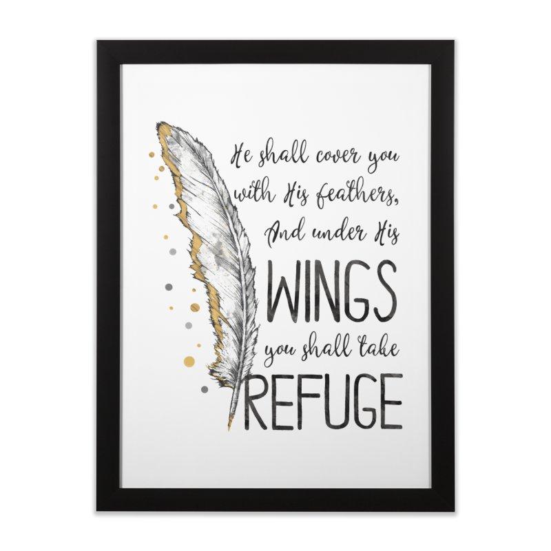 Refuge Home Framed Fine Art Print by Kingdomatheart's Artist Shop