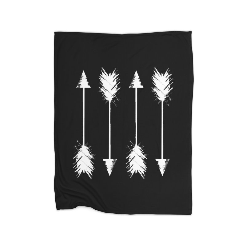 White Arrow Home Blanket by Kingdomatheart's Artist Shop