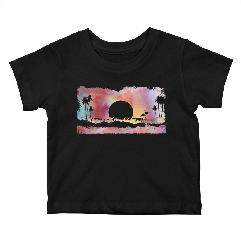 Black Hole Sun Kids Baby T-Shirt by Kingdomatheart's Artist Shop