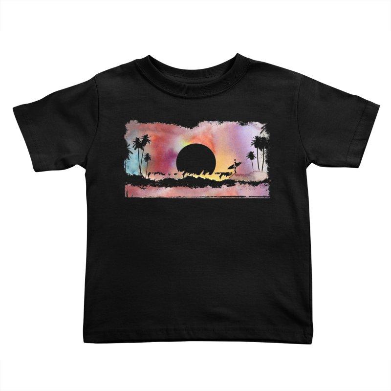 Black Hole Sun Kids Toddler T-Shirt by Kingdomatheart's Artist Shop