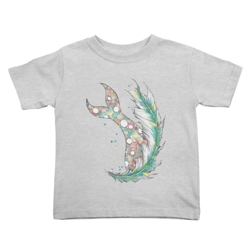 Mermaid  Kids Toddler T-Shirt by Kingdomatheart's Artist Shop