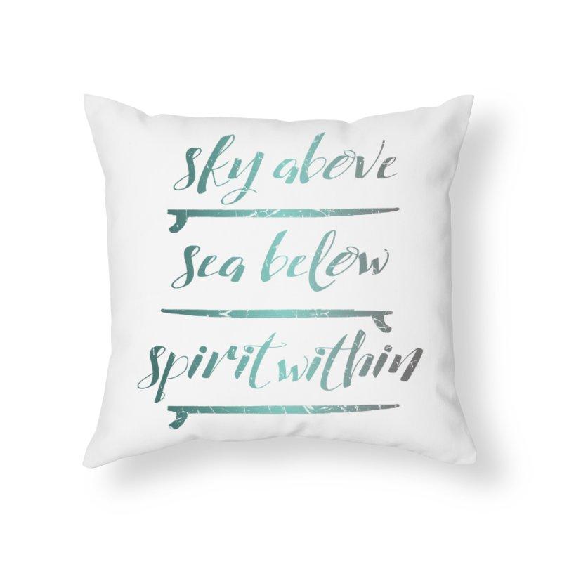 Spirit Within Home Throw Pillow by Kingdomatheart's Artist Shop