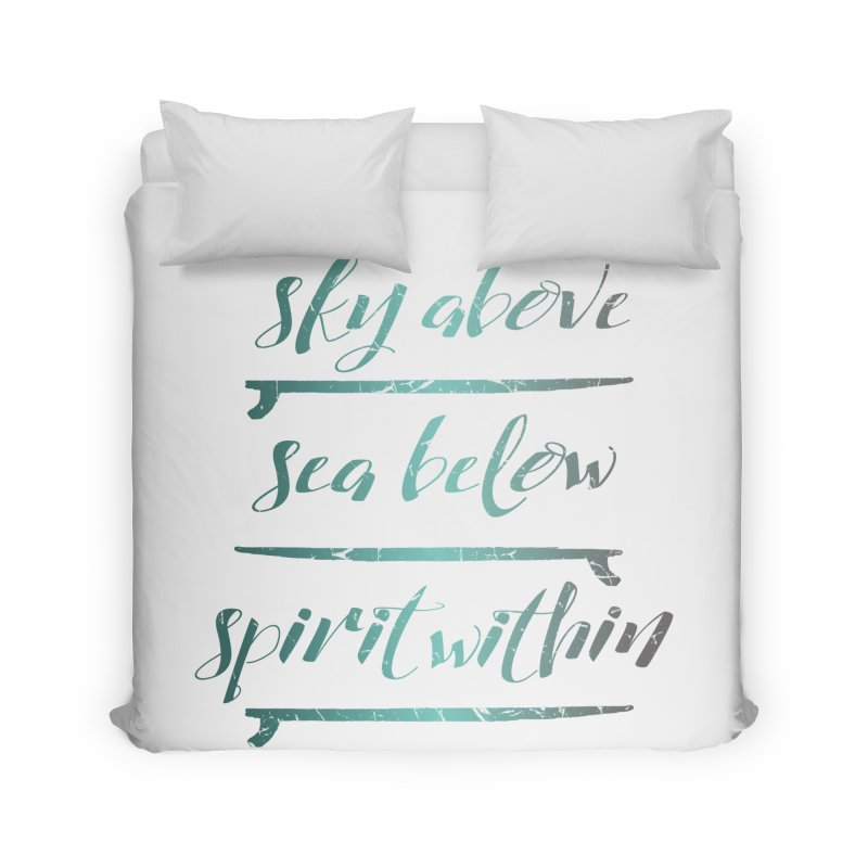 Spirit Within Home Duvet by Kingdomatheart's Artist Shop