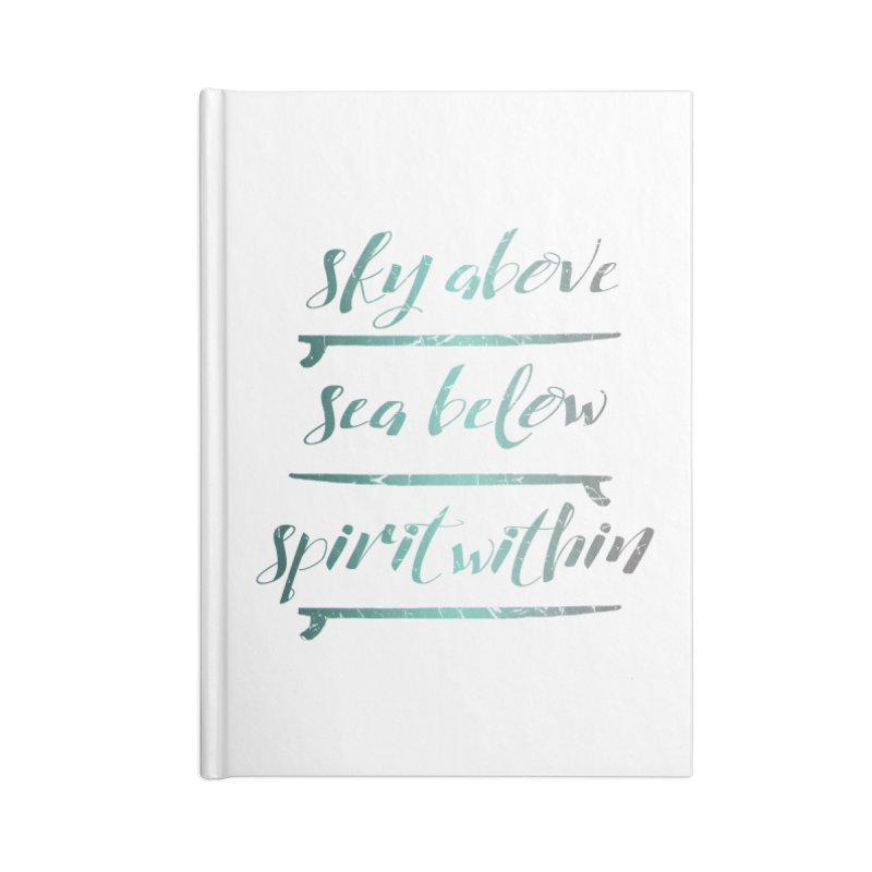 Spirit Within Accessories Notebook by Kingdomatheart's Artist Shop