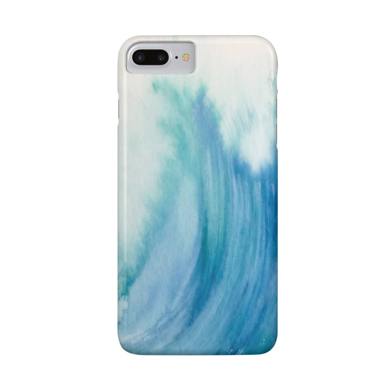 Watercolor Wave  Accessories Phone Case by Kingdomatheart's Artist Shop