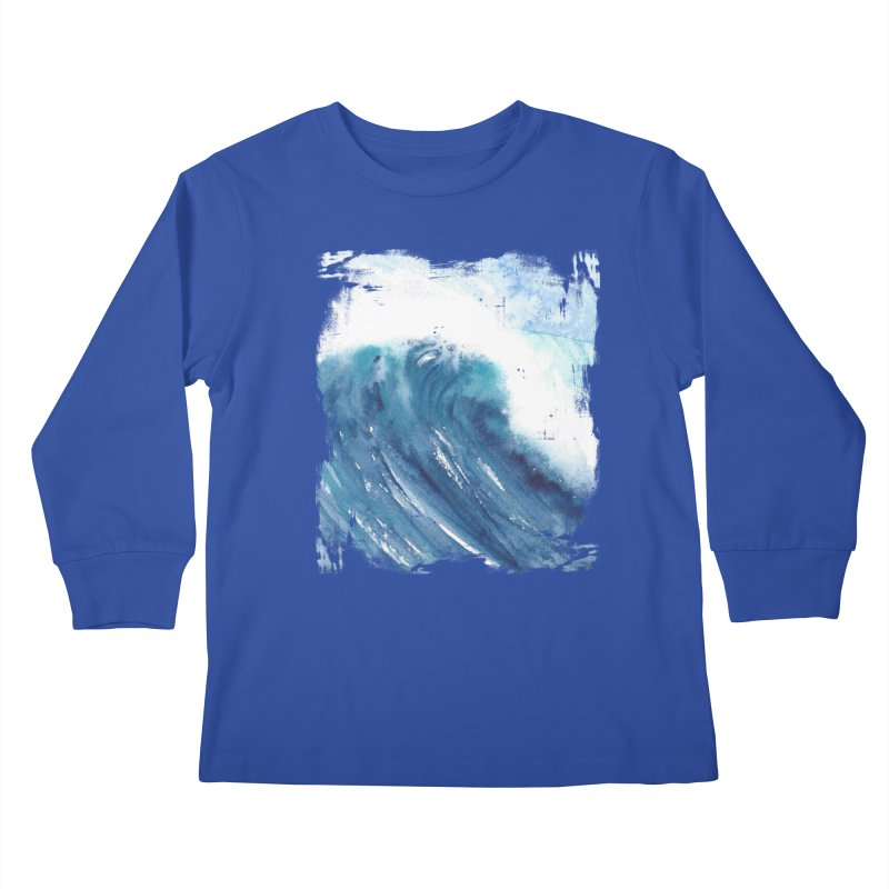 Dwell  Kids Longsleeve T-Shirt by Kingdomatheart's Artist Shop
