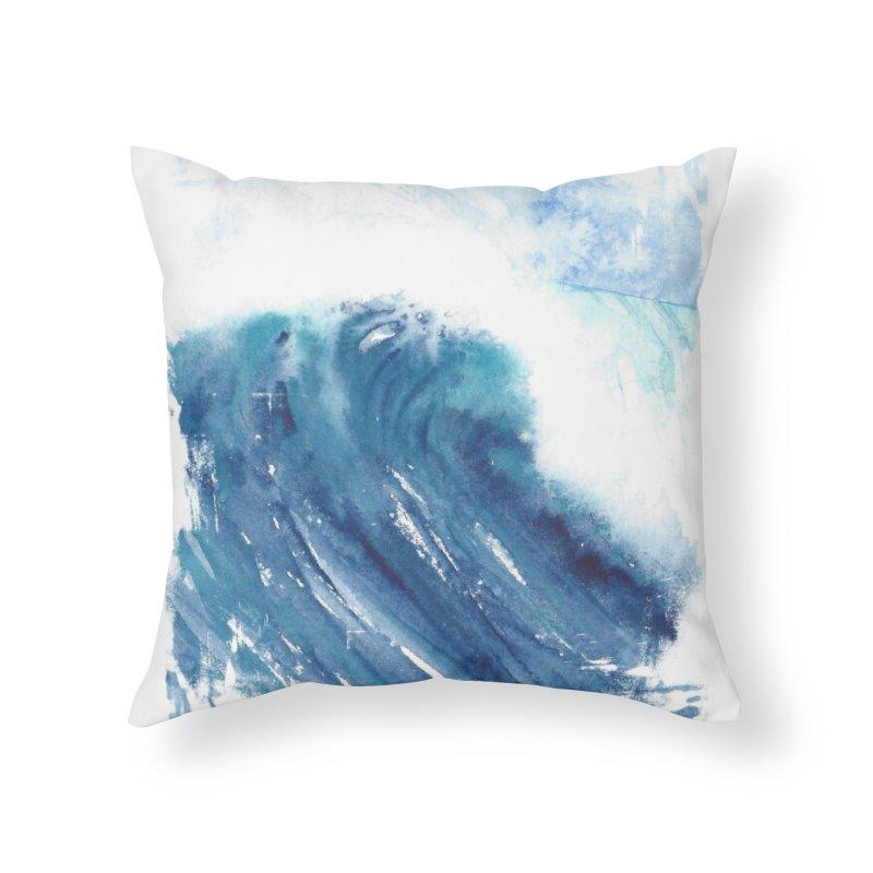 Dwell  Home Throw Pillow by Kingdomatheart's Artist Shop