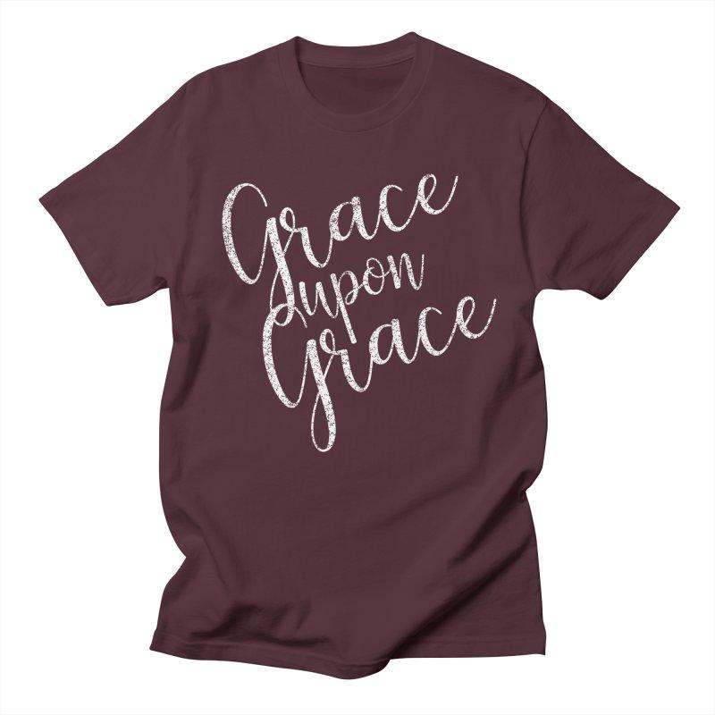 Grace upon Grace Men's T-shirt by Kingdomatheart's Artist Shop
